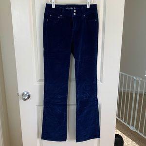 Navy Blue Corduroy Pants